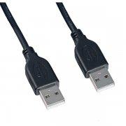 Кабель USB(M)-USB(M) Perfeo черный 3m