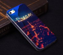 Чехол-накладка Apple iPhone 5/5S Blue Shine 10435