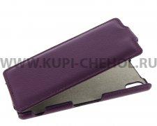 Чехол  откид  Sony  M4  UpCase  фиол