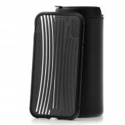 Чехол-накладка iPhone X Kruche Metal Suitcase Black
