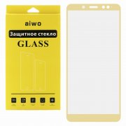Защитное стекло Xiaomi Redmi Note 5 Pro Aiwo Full Screen золотое 0.33mm