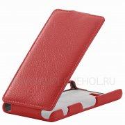 Чехол флип Sony Xperia Z4 Compact / Mini UpCase красный