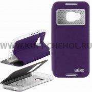Чехол книжка HTC One M9 Ulike 7174 фиолетовый