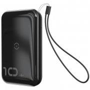Power Bank 10000 mAh Baseus Mini Wireless Black УЦЕНЕН
