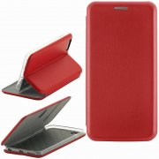 Чехол книжка Apple iPhone 6/6S Fashion Case с визитницей красный