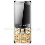 Телефон Maxvi K6 Gold