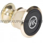 Автодержатель магнитный на липучке WK WA-S01 Gold