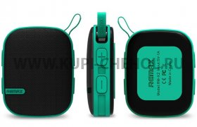 Колонка универсальная Bluetooth Remax RB - X2  зеленая