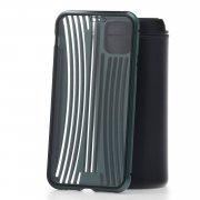 Чехол-накладка iPhone 11 Pro Max Kruche Metal Suitcase Dark green
