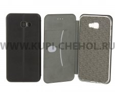 Чехол книжка Samsung Galaxy A7 (2017) A720 Fashion Case с визитницей черный