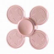 Спиннер металлический Звездочки 9931 розовый