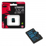 Micro SD 32Gb Class 10 к/п Kingston UHS-I U3 Canvas Go V30 90Mb/s
