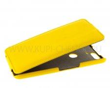 Чехол флип Huawei Nexus 6P UpCase жёлтый