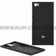 Задняя крышка Xiaomi Mi3 AAA 9078 чёрная