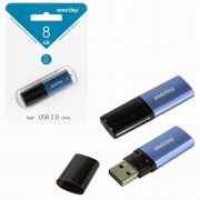 Флеш SmartBuy X-Cut 8Gb Sky Blue USB 2.0