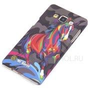 Чехол-накладка Samsung Galaxy A5 A500f Mr.Horse 8760 фосфор