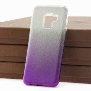 Чехол-накладка Samsung Galaxy A8 2018 (A530) 9191 с градиентом фиолетовый