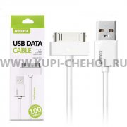 Кабель USB-Apple iPhone 4 Remax Fast RC-007i4 White 1m