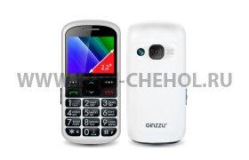 Телефон Ginzzu R12D белый