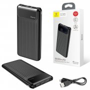 Power Bank 10000 mAh Baseus PPYZ-C01 Black