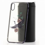 Чехол-накладка iPhone XS Max Kingxbar 212 черный