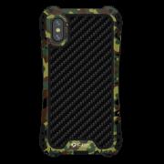 Чехол противоударный Apple iPhone X R-JUST Amira RJ-04 Green