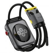 Ремешок для Watch 3/4/5 42mm Baseus LetsGo Lockable Rope Strap Grey/Yellow