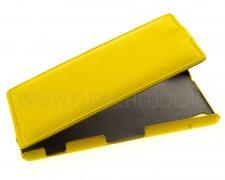Чехол  откид  Sony  Z3  UpCase  жёлт