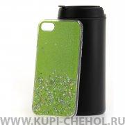 Чехол-накладка Apple iPhone 7 Конфетти зеленый