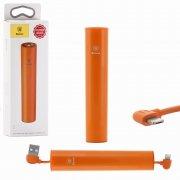 Power Bank iPhone 5/micro USB 2000 mAh Baseus PPN05-07 Orange