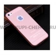 Чехол-накладка Apple iPhone 5/5S 9771 розовый