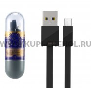 Кабель USB-Micro Remax RC-105m Black 1m