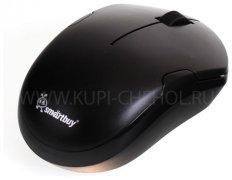 Мышка компьютерная б/п SmartBuy 355AG Black