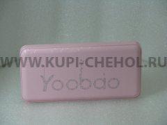 Power Bank 12000 mAh Yoobao PL-12 розовый
