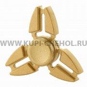 Спиннер металлический вид 2 золотой
