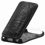 Чехол флип Lenovo S720 Abilita чёрный крокодил