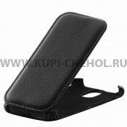 Чехол флип HTC Desire 326 Dual Sim Derbi чёрный