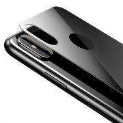 Защитное стекло iPhone XS Max Baseus Rear Protector 3D Black заднее 0.3mm