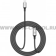 Кабель Type-C-iP Baseus CATSU-S1 Black 1m