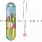 Шнурок на шею Hoco PH2 Pink