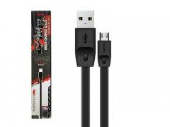 Кабель USB-Micro Remax RC-001m Black 2m