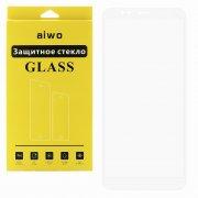 Защитное стекло Xiaomi Redmi 5 Plus Aiwo Full Screen белое 0.33mm