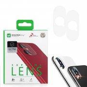 Защитное стекло для камеры Apple iPhone X/XS/XS Max Amazingthing SupremeLens Ultra 0.33mm 2шт