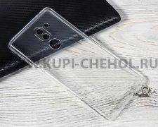 Чехол-накладка Huawei Honor 6x прозрачный глянцевый 0.5mm