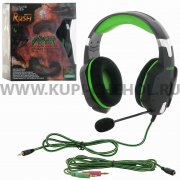 Игровая гарнитура SmartBuy Rush Viper SBHG-2100 черно - зеленая