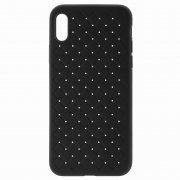 Чехол-накладка Apple iPhone X Baseus BV Weaving Black