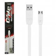Кабель USB-Micro Remax RC-001m White 1m