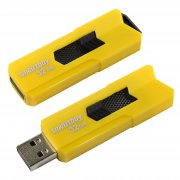 Флеш SmartBuy Stream 64Gb Yellow USB 2.0