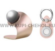 Автодержатель магнитный Hoco CA4 Magnetic Ring Buckle Gold
