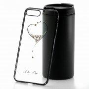 Чехол-накладка Apple iPhone 7 Plus Kingxbar 173 чёрный